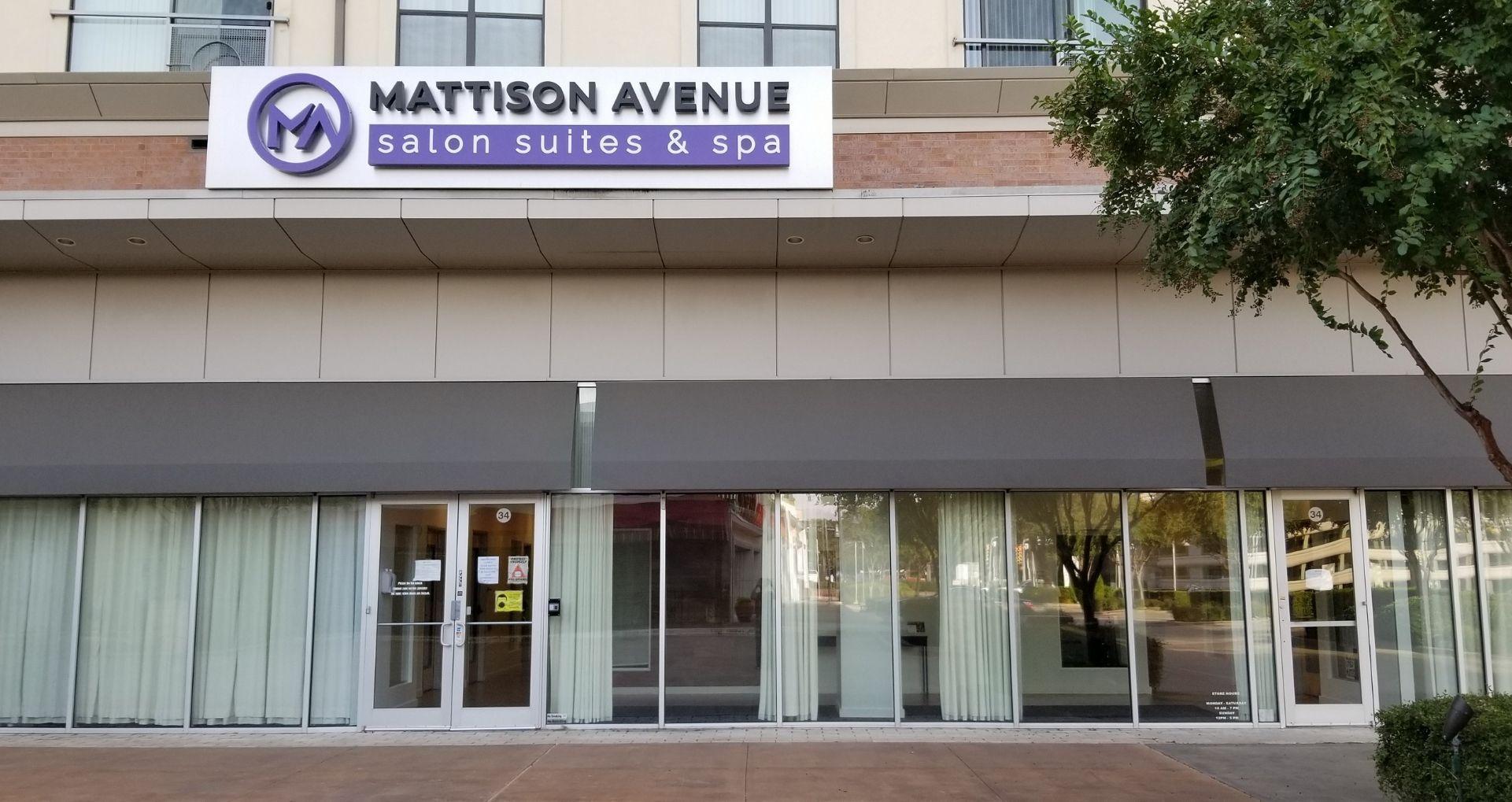 Mattison Avenue Salon Suites & Spa - Front Entrance
